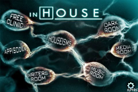 "House MD ""InHouse"" iPod iPhone App"