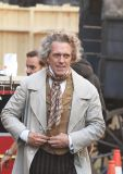 Hugh Laurie - Filming 'David Copperfield' In Kingston upon Hull, England